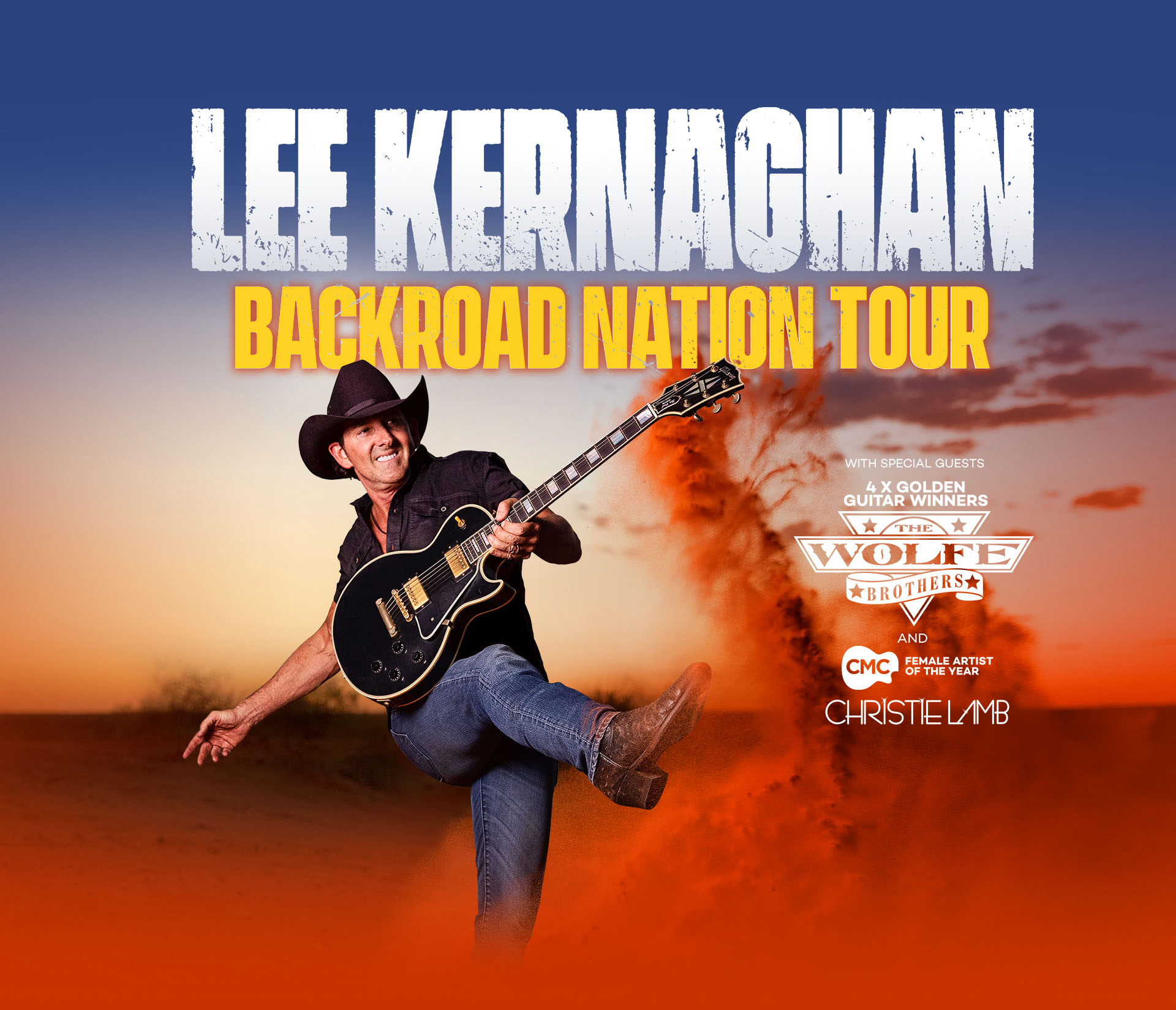 Lee Kernaghan Backroad Nation Tour
